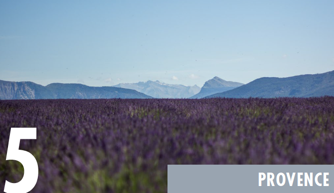 provence - top places to retire