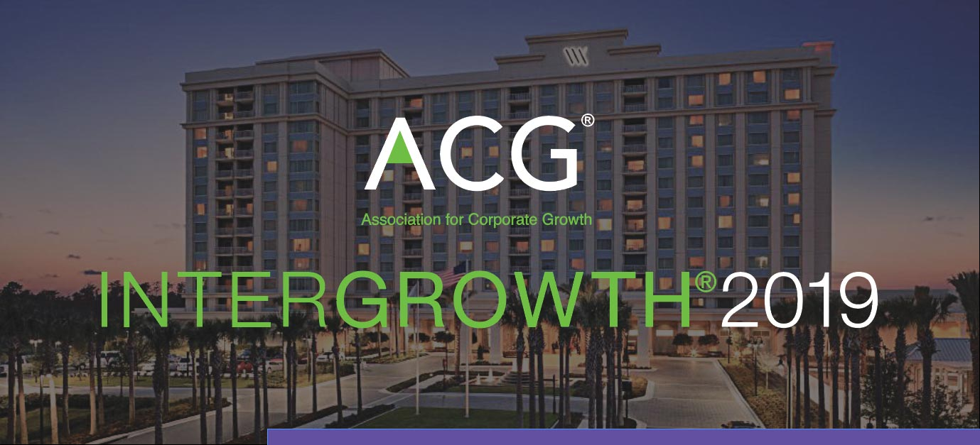 ACG Intergrowth Conference Benchmark orlando may