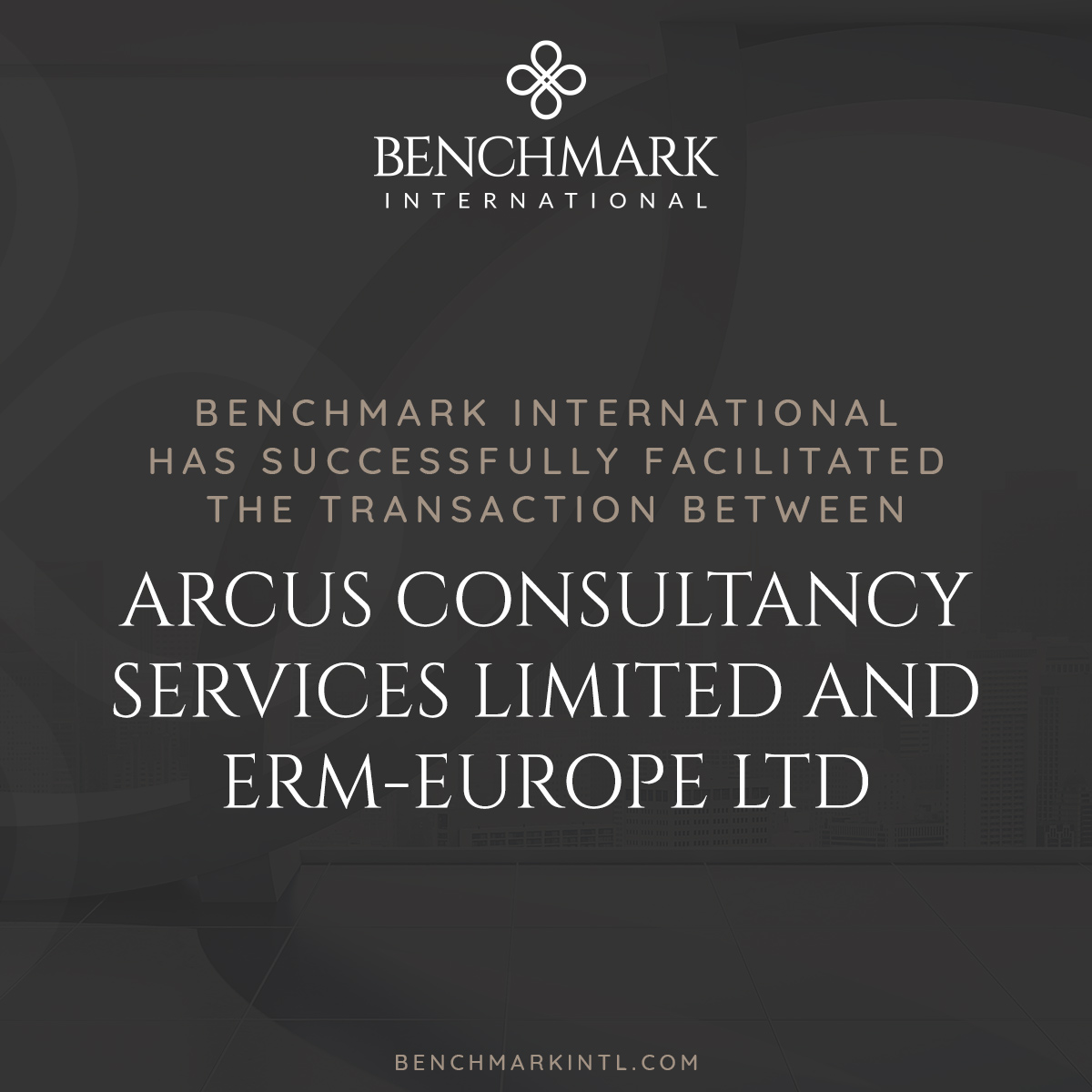 Arcus Consultancy acquired by ERM