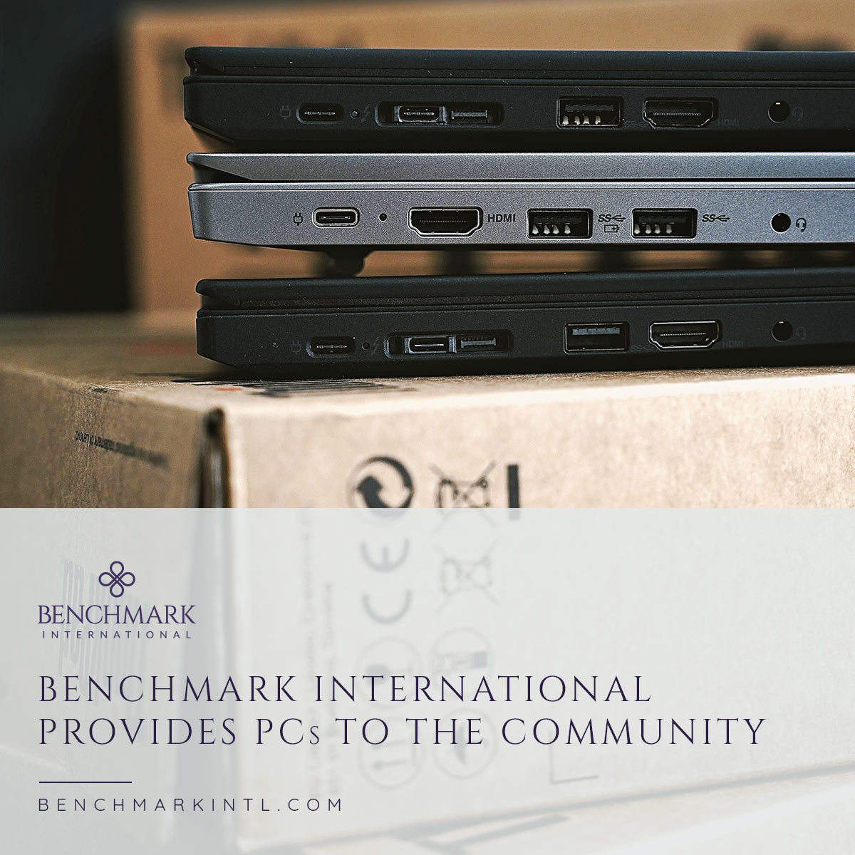 Benchmark International provides PCs to community with PCRefurb and Lantec