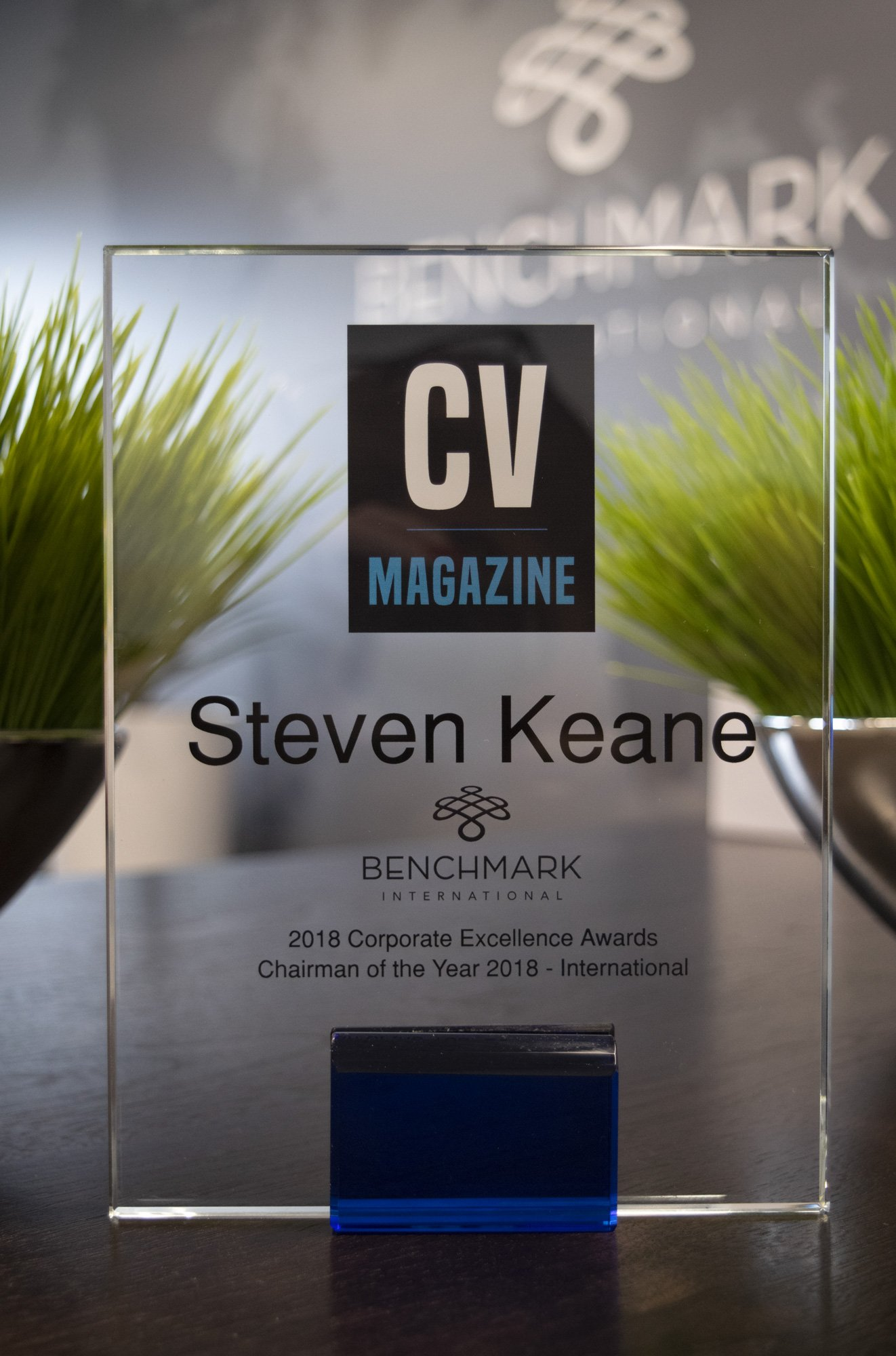 Chairman of the Year 2018 Award Acquisition International Benchmark