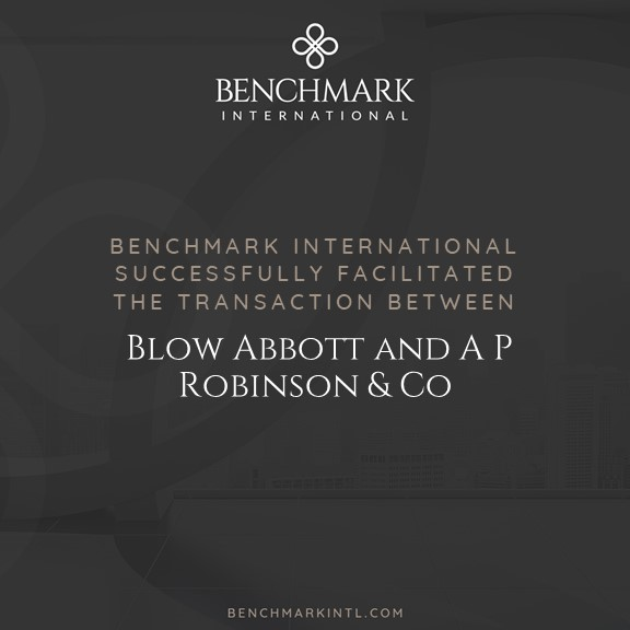 Blow Abbott merges with A P Robinson & Co