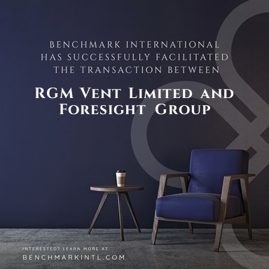 RGM Vent acquired by Foresight