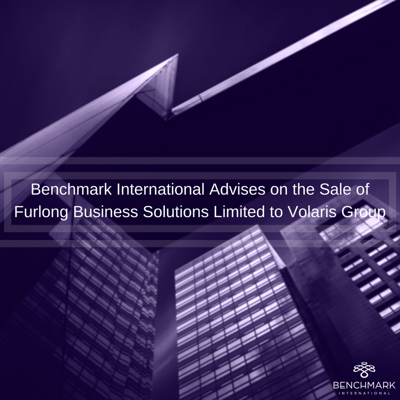 Benchmark International Advises on the Sale of Furlong Business Solutions )