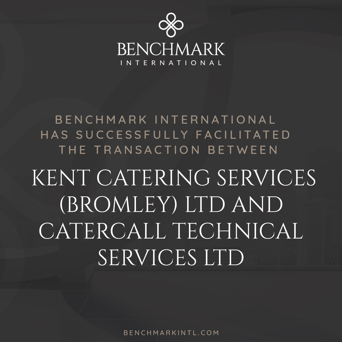 Acquisition KCSB Catercall Technical Services