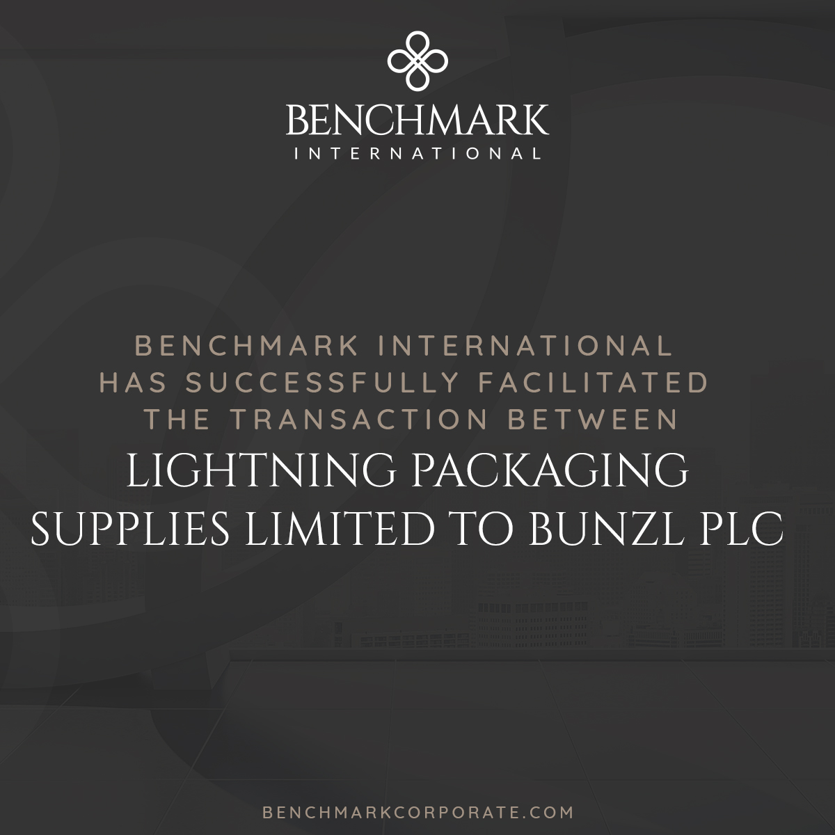 Lightning Packaging Acquired by Bunzl
