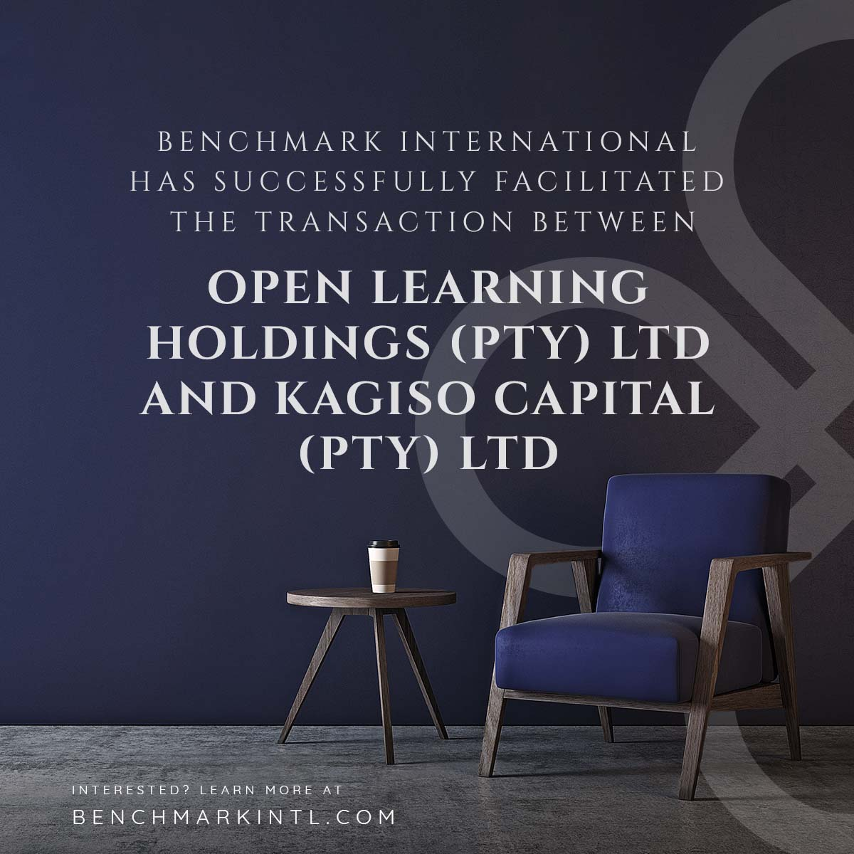 Open Learning Holdings and Kagiso Capital