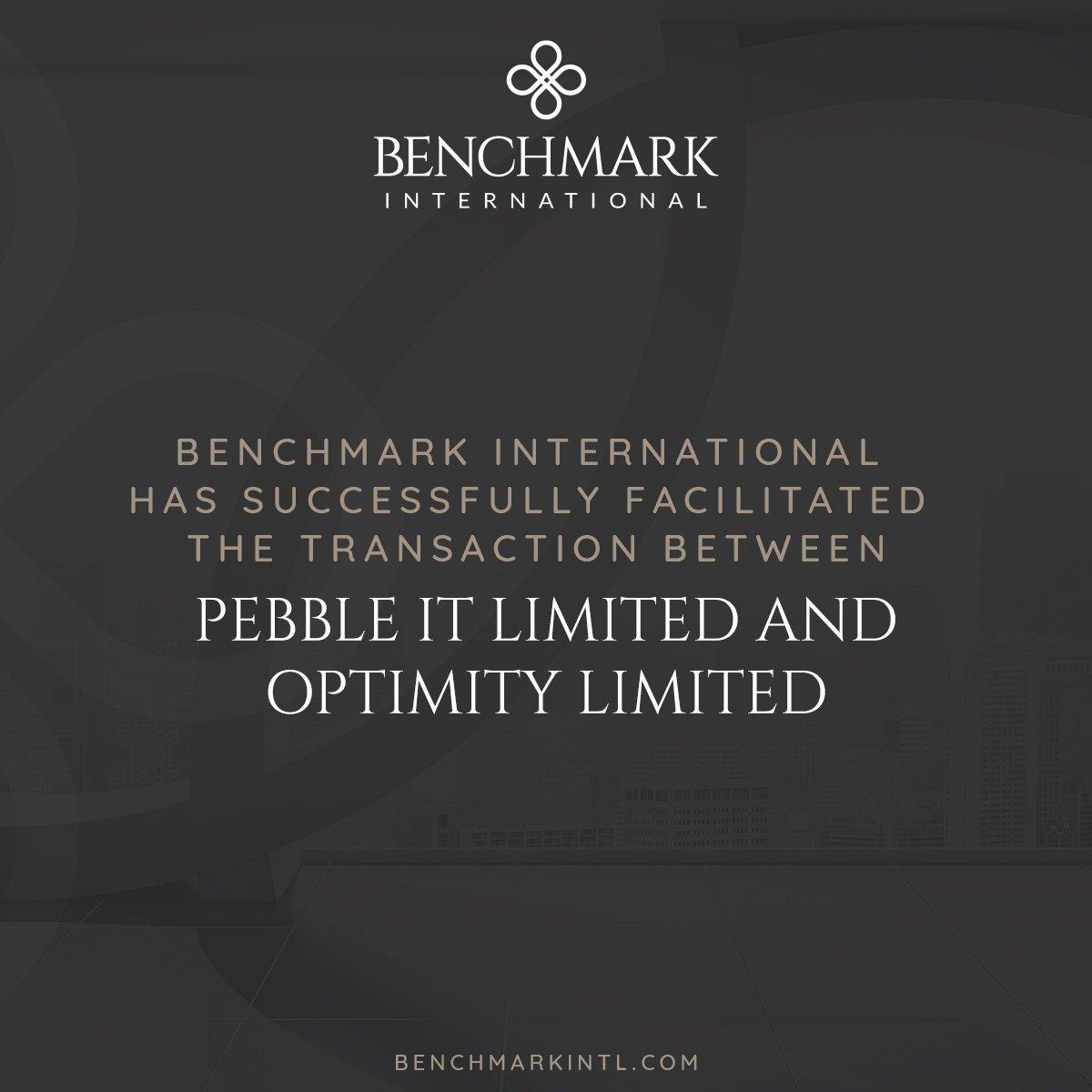 Optimity Acquires Pebble IT