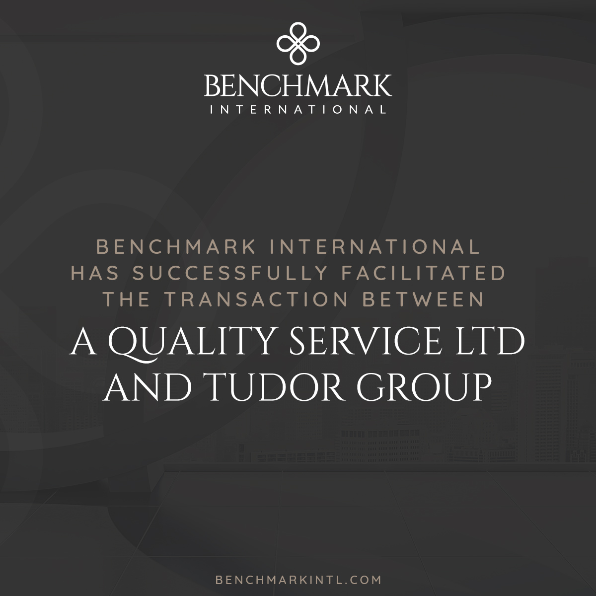 A Quality Service acquired by Tudor Group