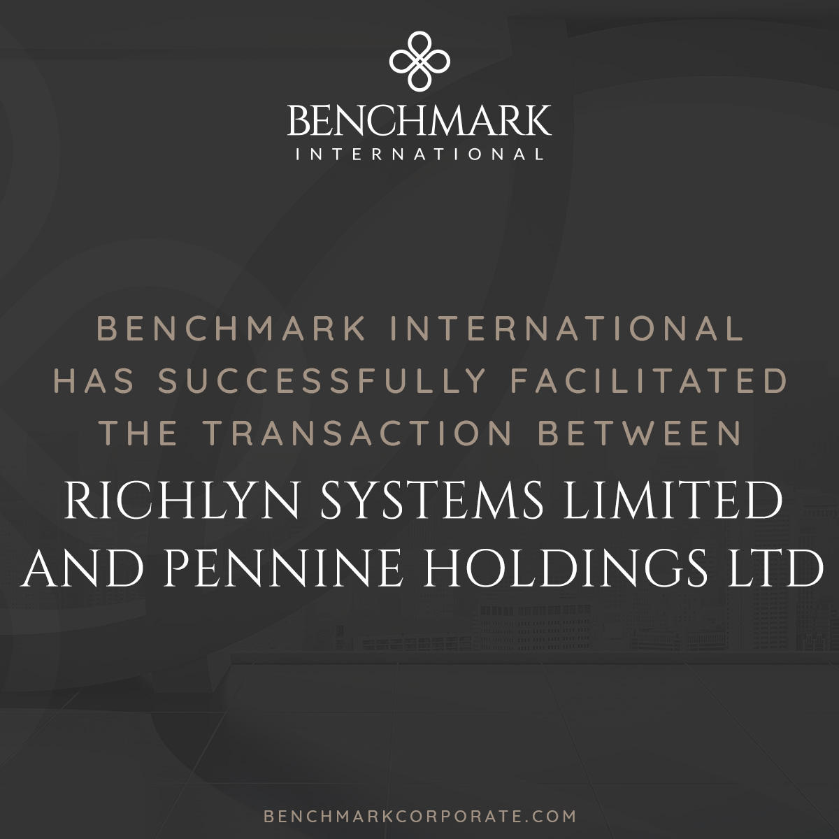 Pennine Acquires Richlyn