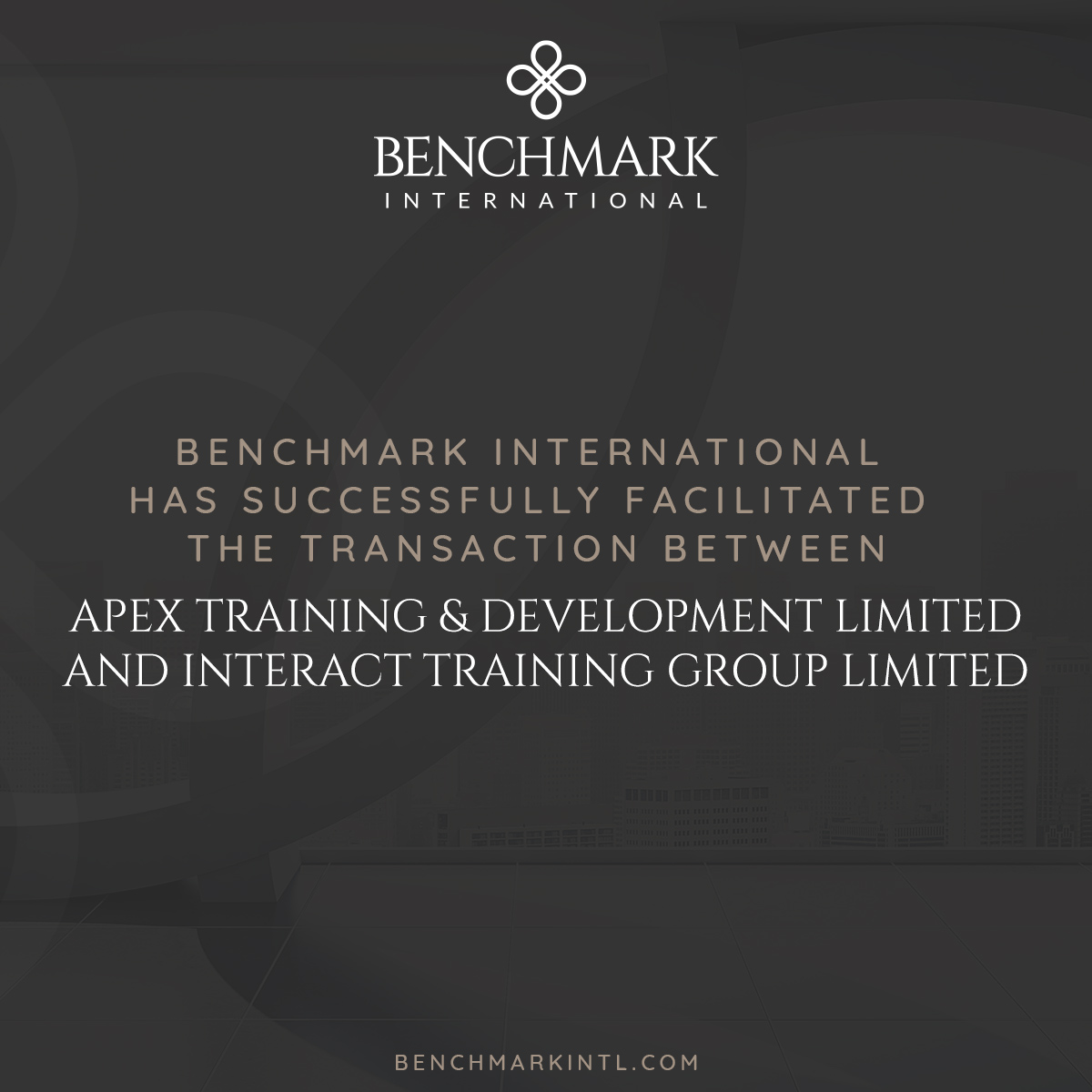 Apex Acquired by Intereact Training Group