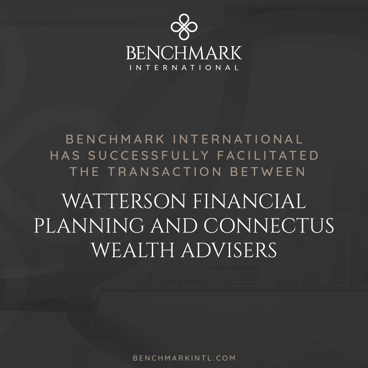 Watterson Financial Planning acquired by Connectus Wealth Advisers