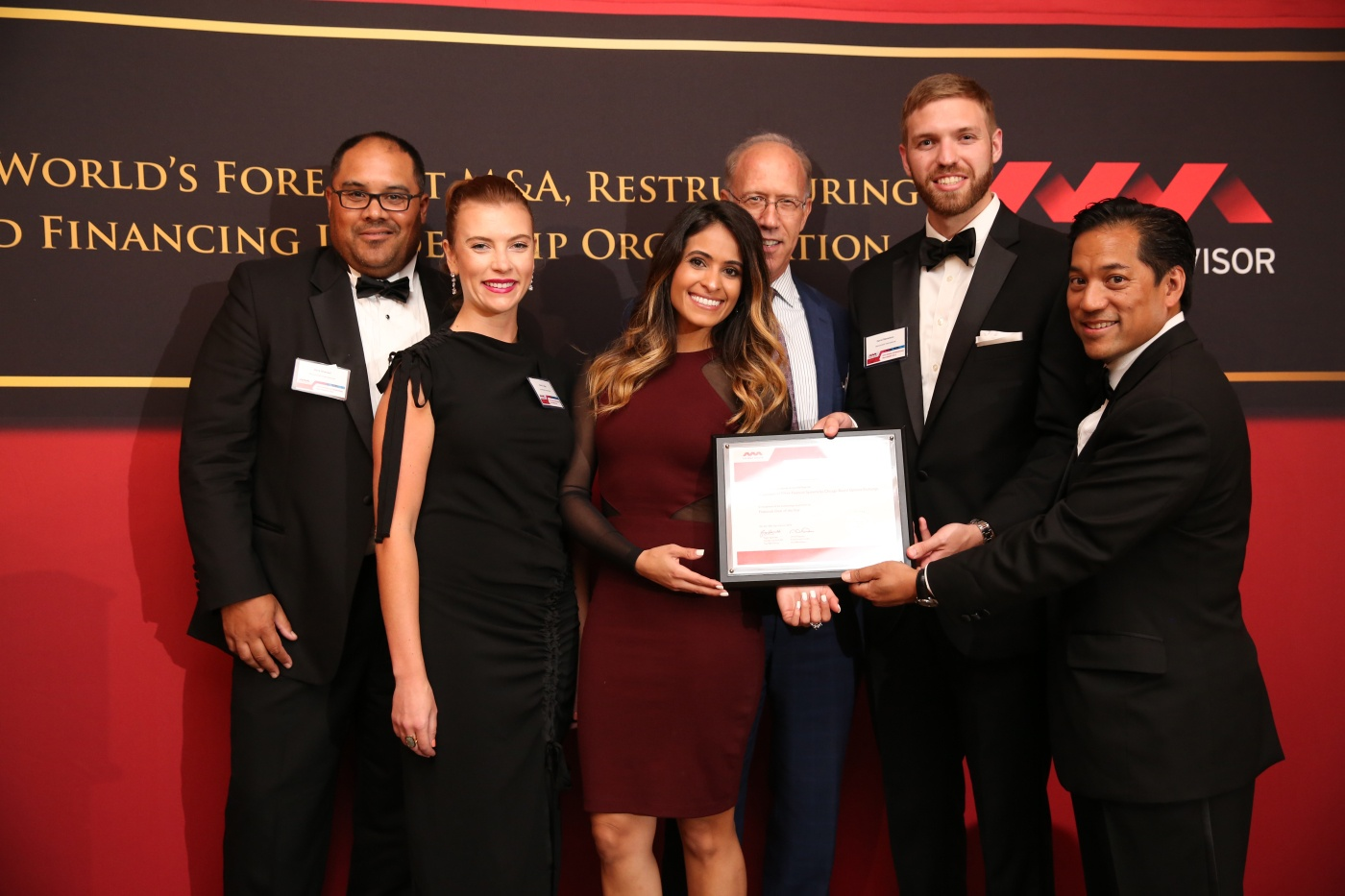 Benchmark International M&A Advisor Awards