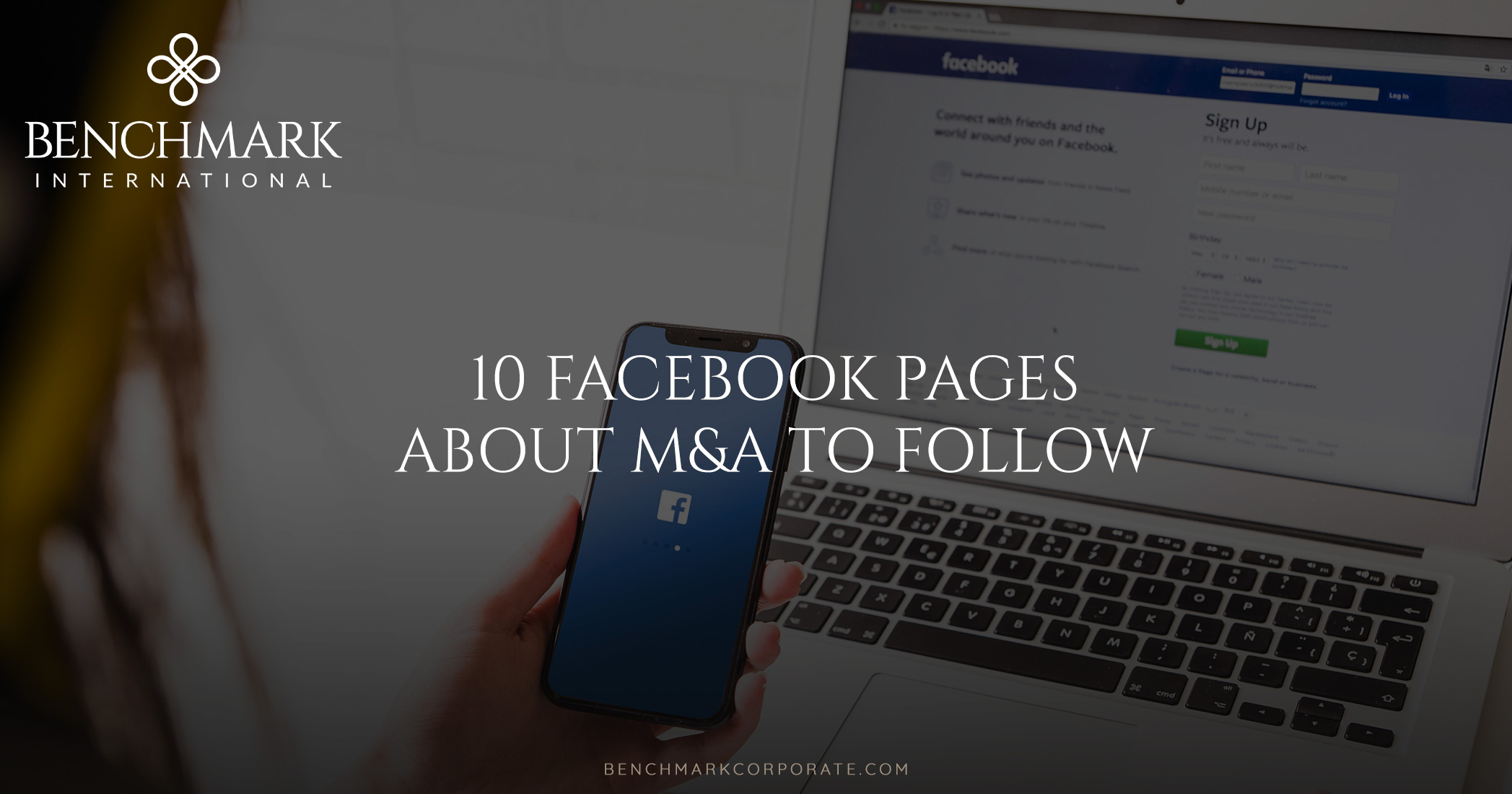 10 Facebook Pages About M&A To Follow