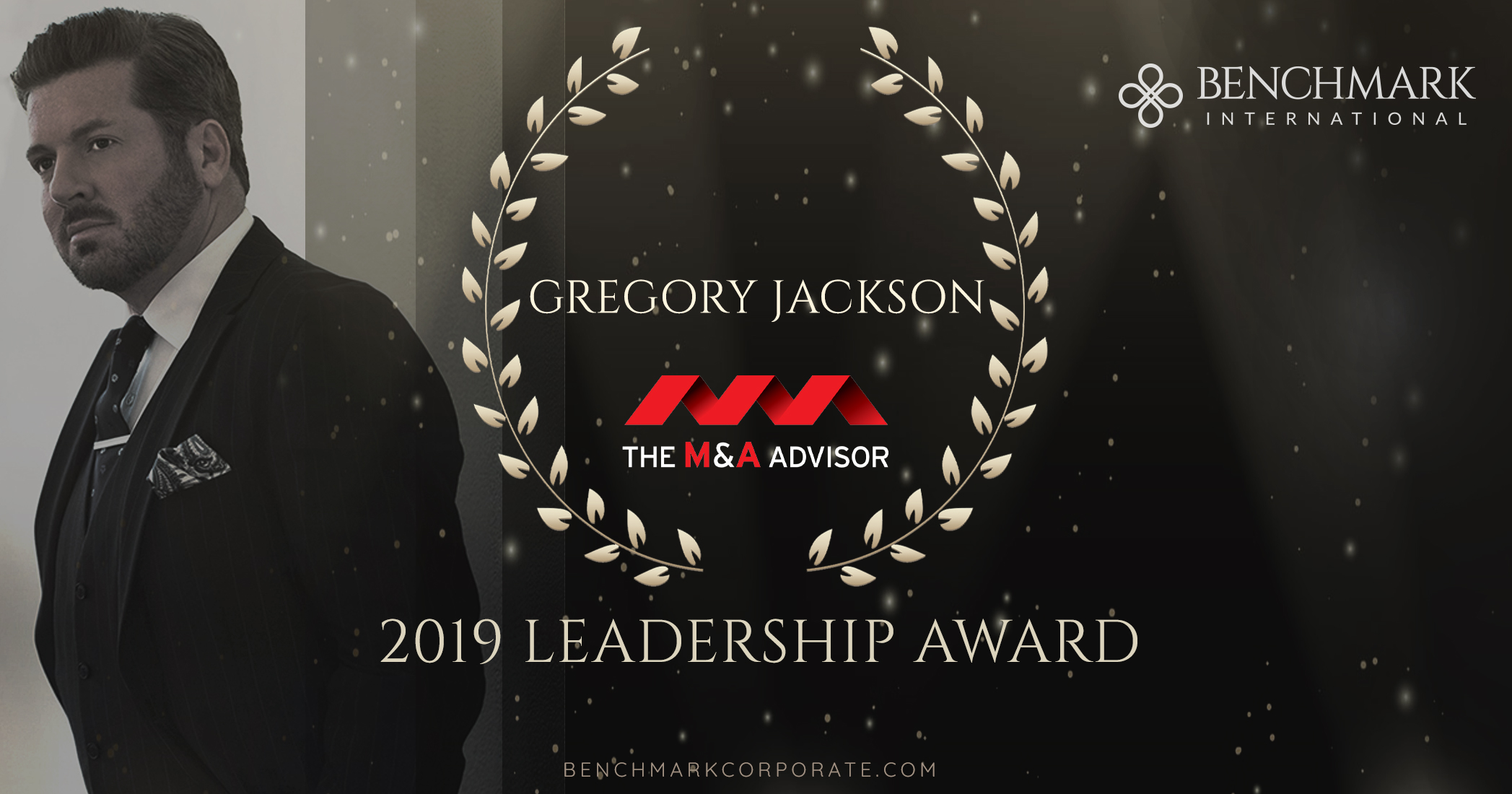 Global CEO, Gregory Jackson, named a recipient of the 2019 Leadership Award from M&A Advisor