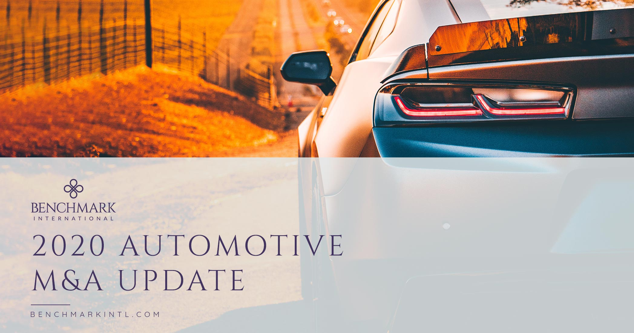 2020 Automotive M&A Update