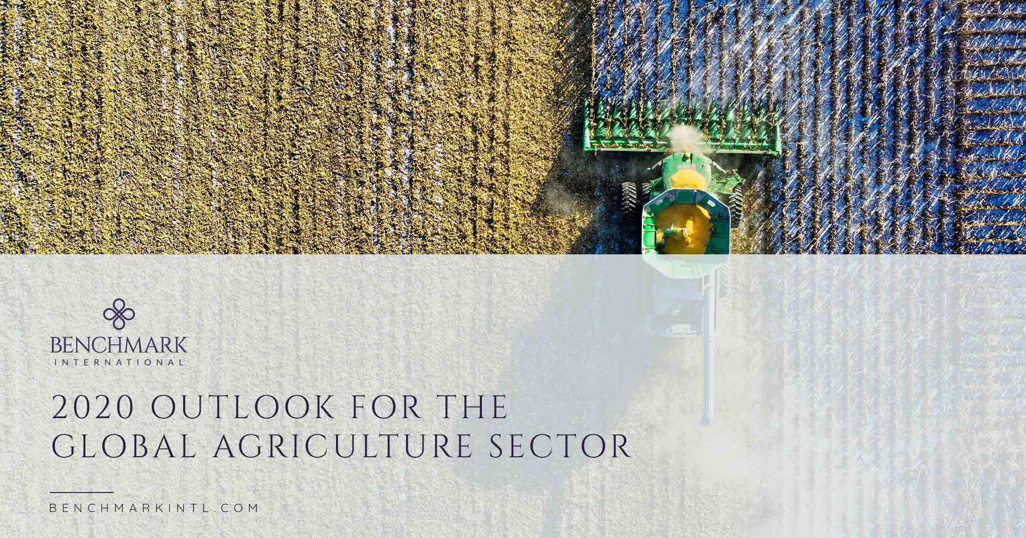 2020 Outlook For The Global Agriculture Sector