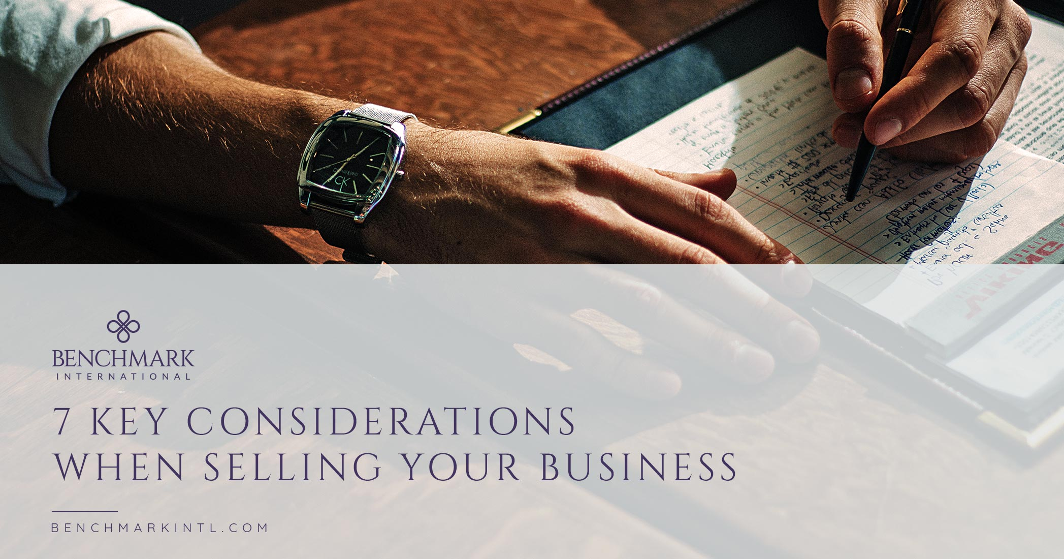 7 Key Considerations When Selling Your Business