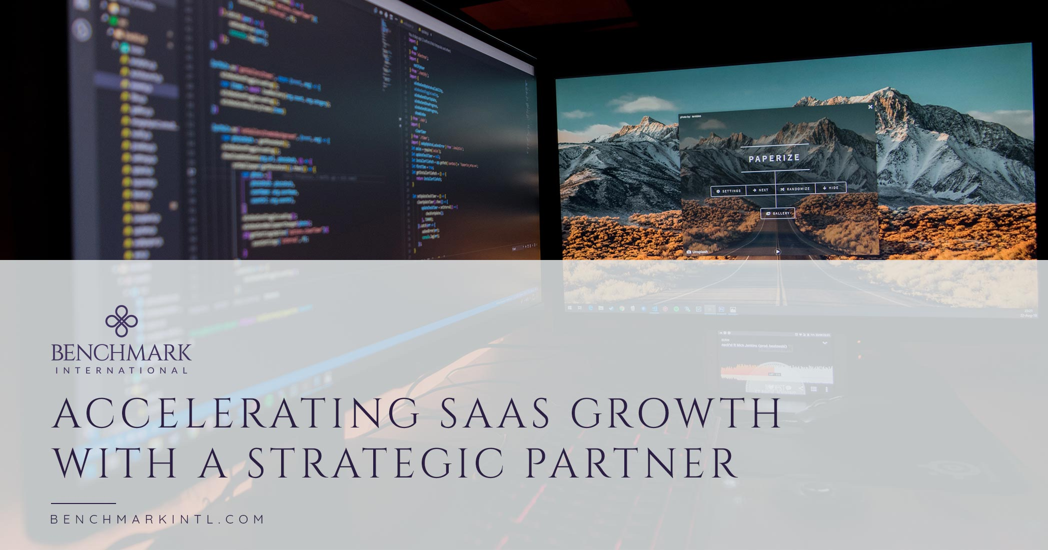 Accelerating SaaS Growth With A Strategic Partner