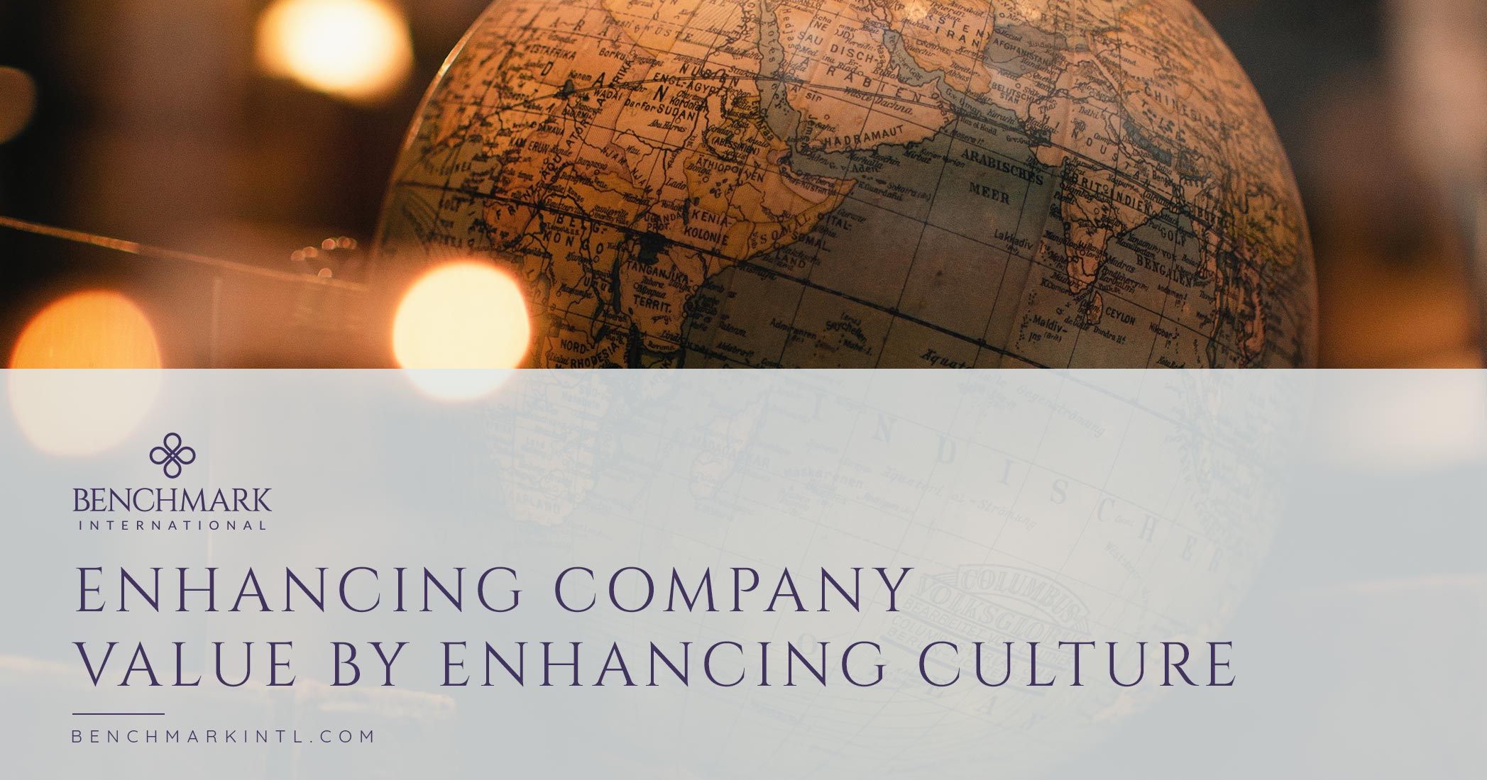 Enhancing Company Value By Enhancing Culture