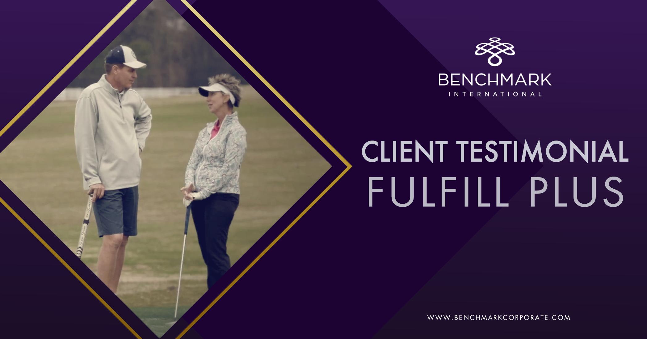 Fulfill Plus Client Testimonial {video}