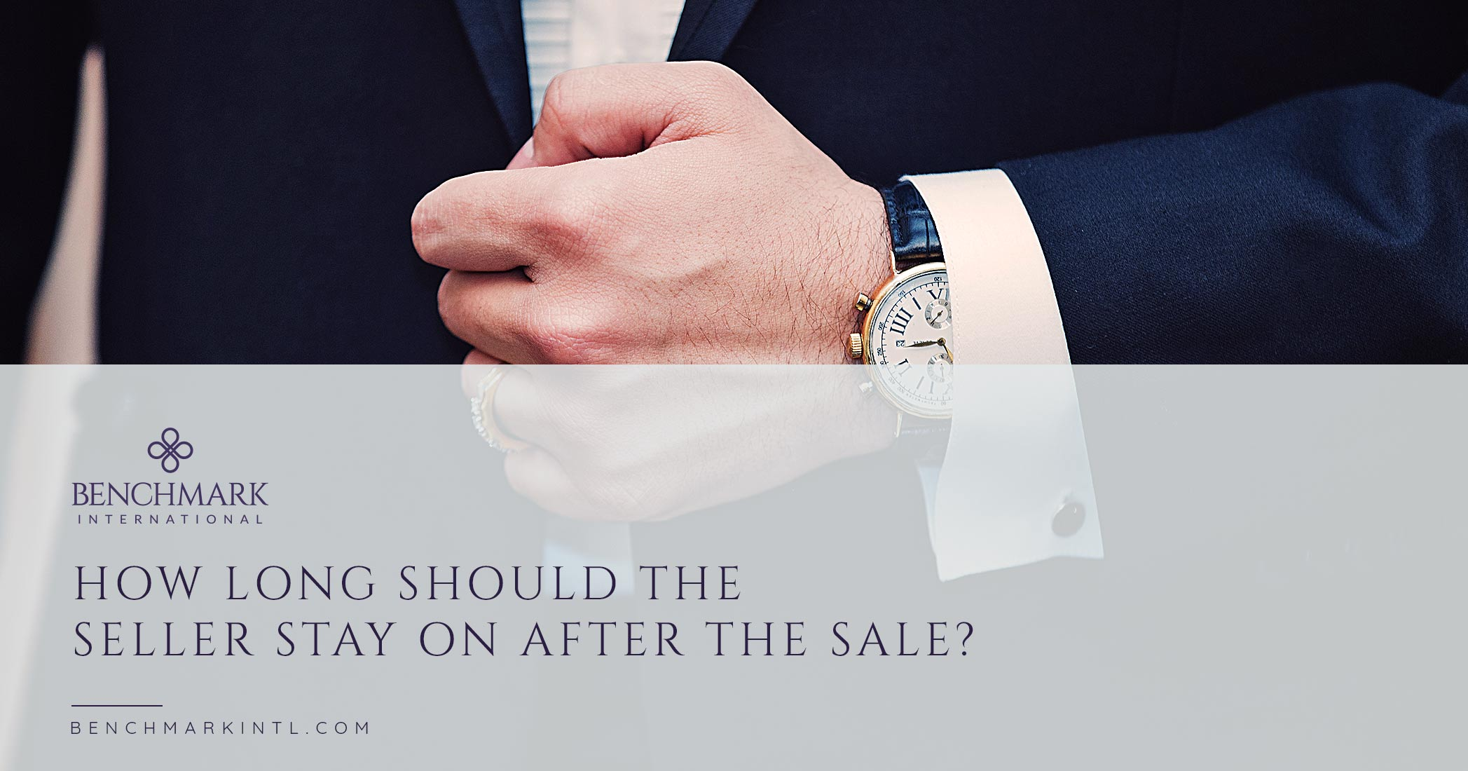 How Long Should The Seller Stay On After The Sale