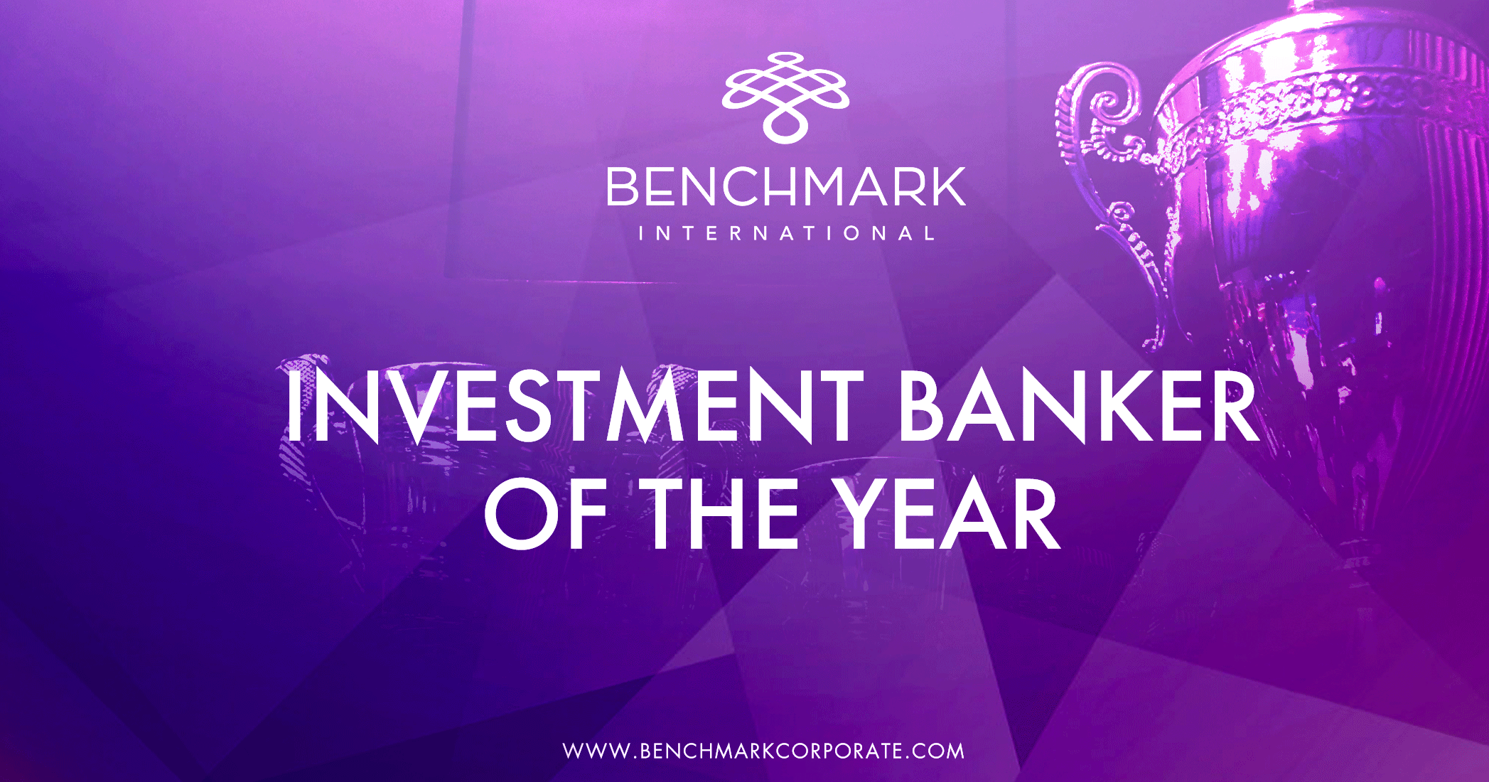 Investment Banker of the Year Winner!