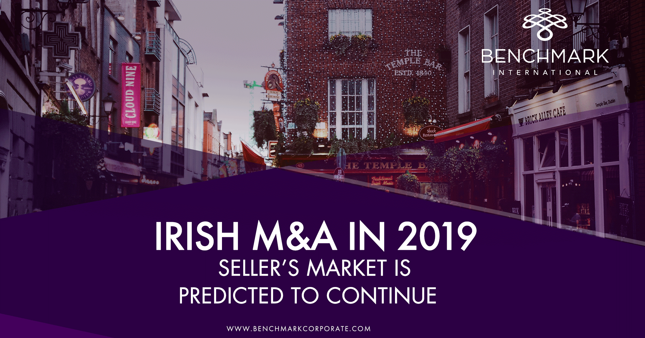 Irish M&A in 2019 – Seller's Market is Predicted to Continue