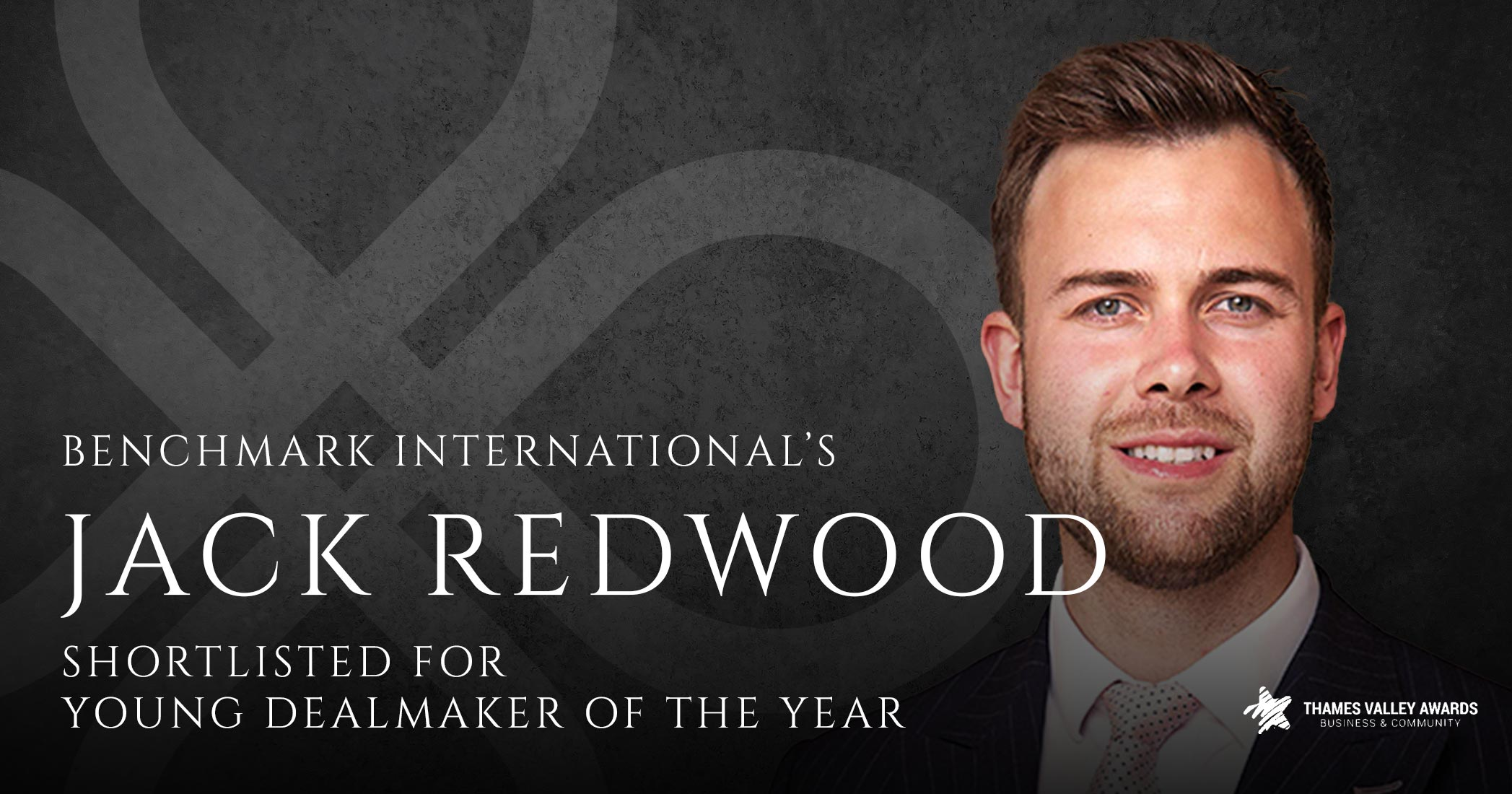 Benchmark International's Jack Redwood Shortlisted for Young Dealmaker of the Year