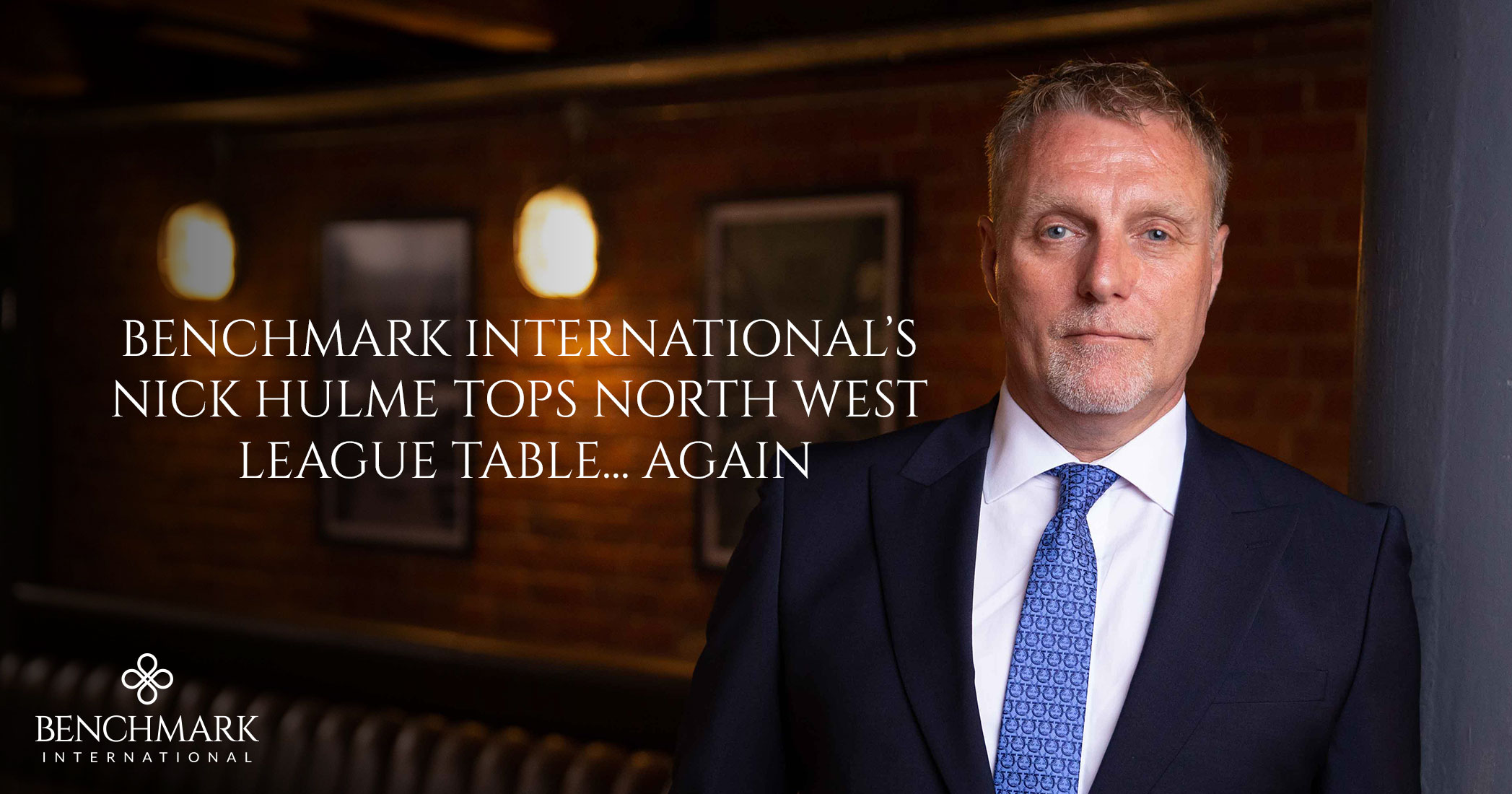 Benchmark International's Nick Hulme Tops North West League Table Again