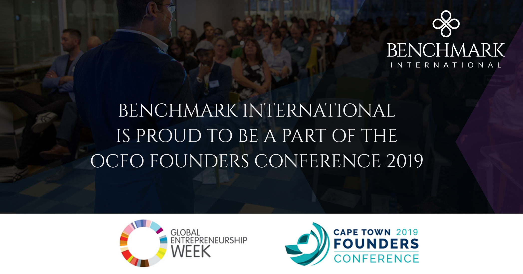 Benchmark International is proud to be a part of the OCFO Founders Conference 2019