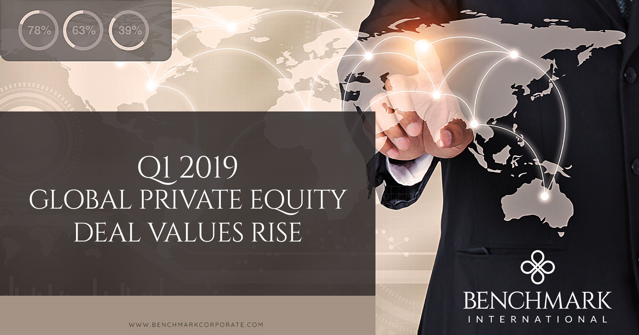 Q1 2019 – Global Private Equity Deal Values Rise