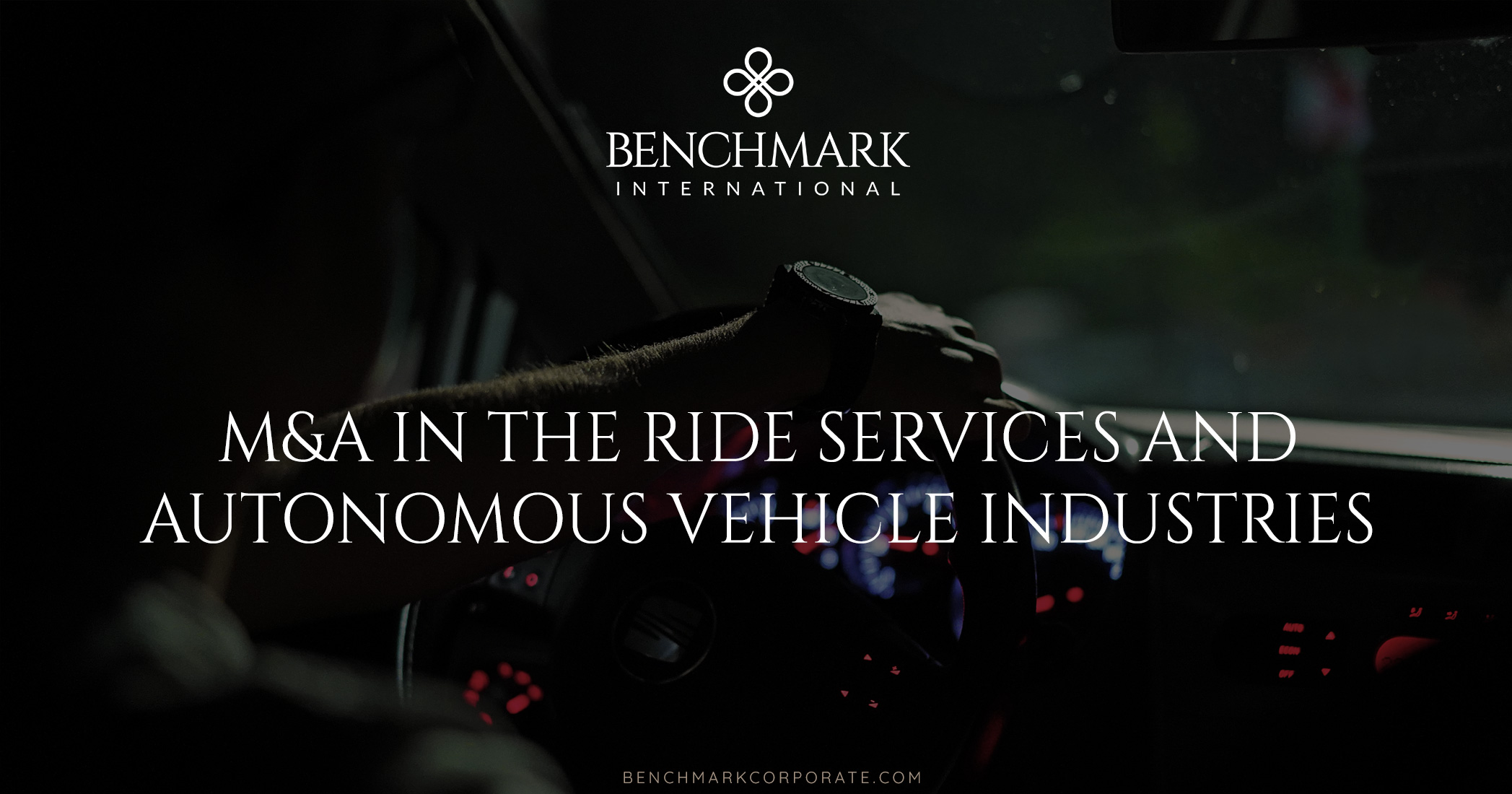 M&A In The Ride Services And Autonomous Vehicle Industries