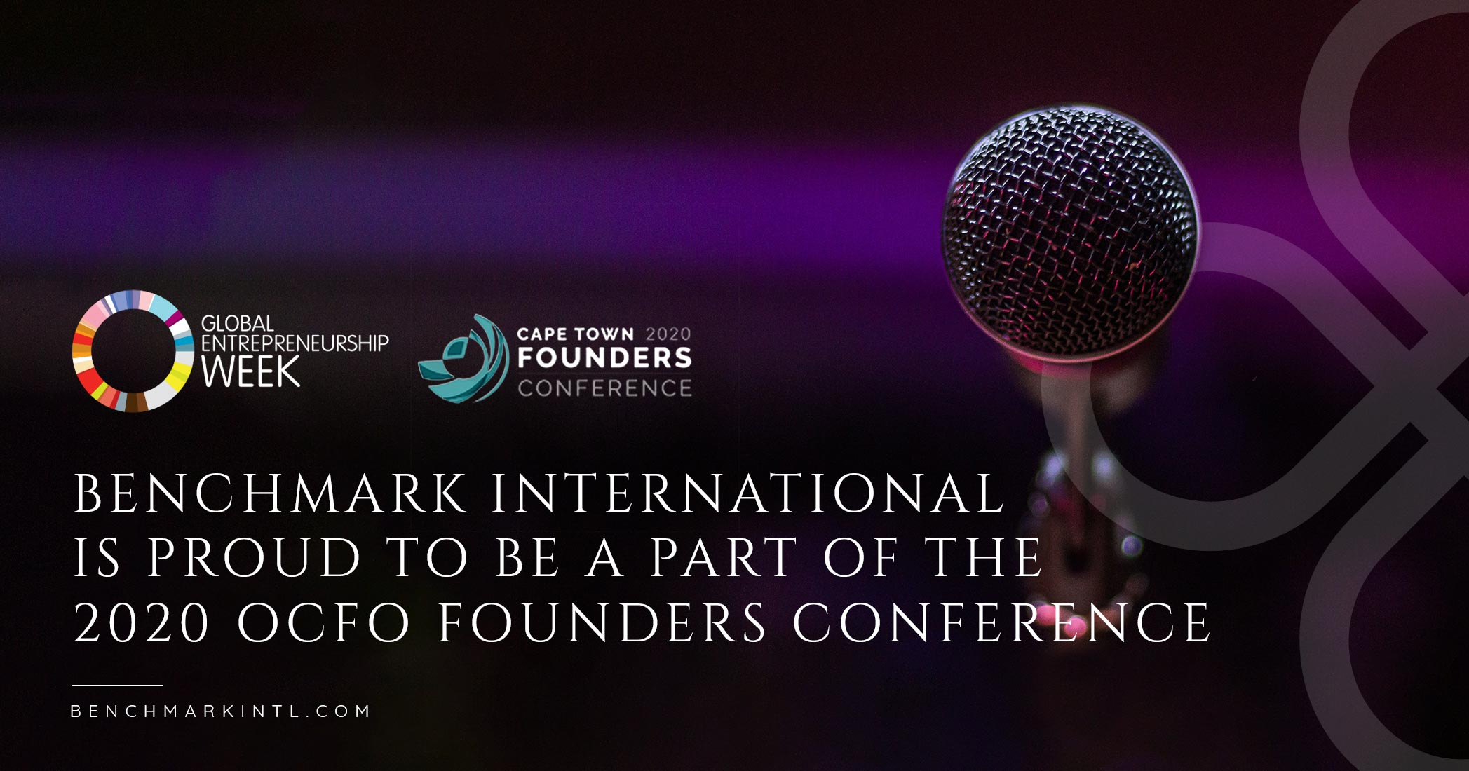 Benchmark International Is Proud To Be A Part Of The 2020 OCFO Founders Conference