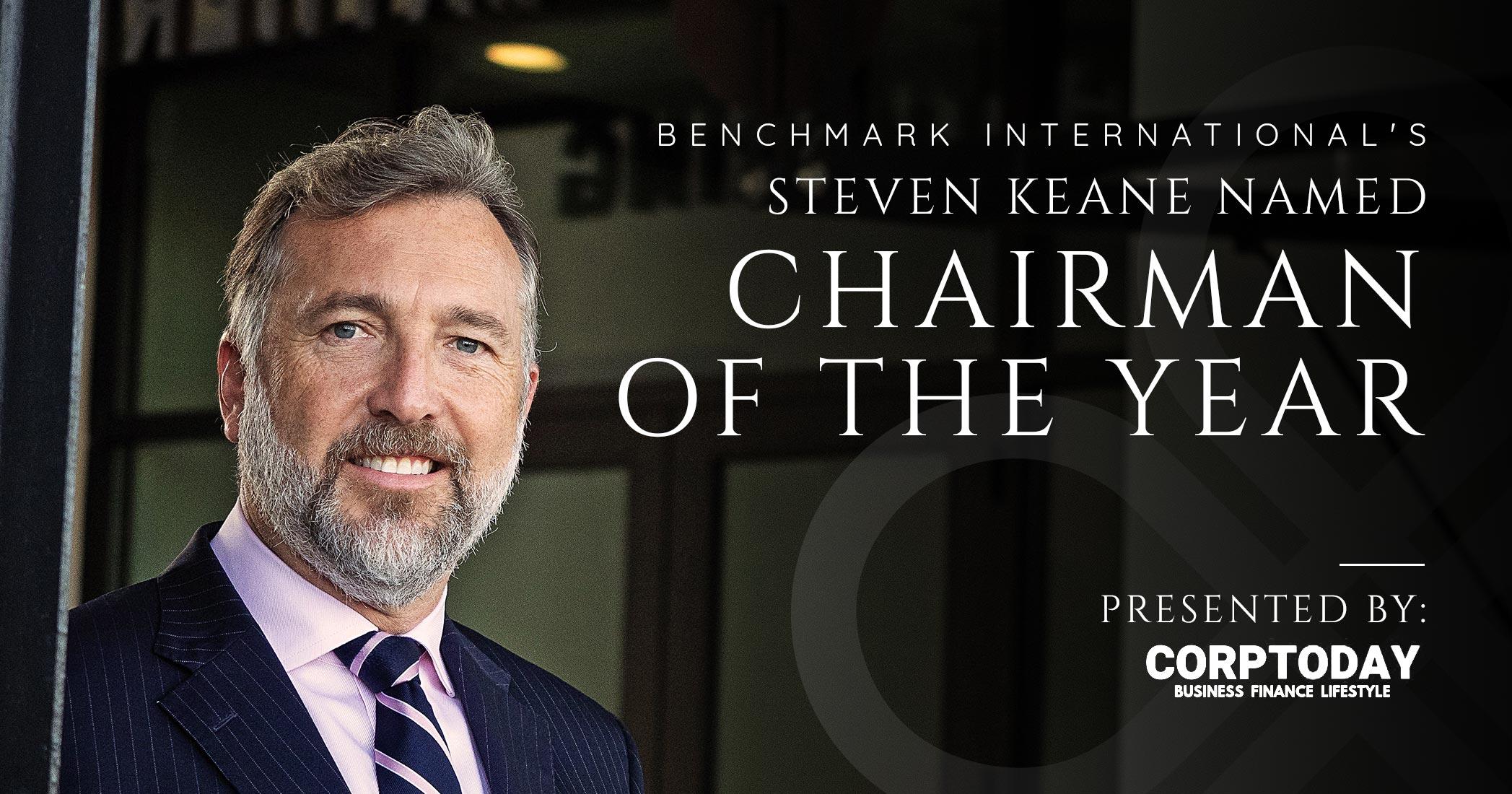 Benchmark International's Steven Keane Named Chairman of the Year