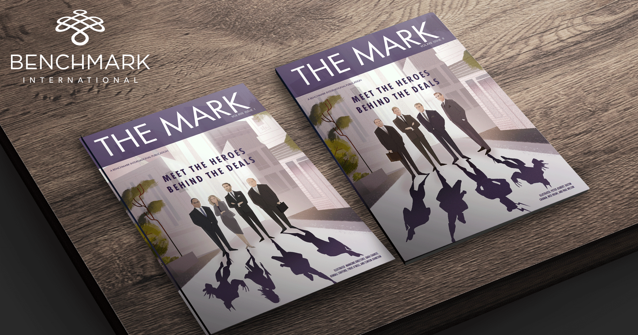 Meet the Heroes Behind the Deals in the Latest Edition of The Mark
