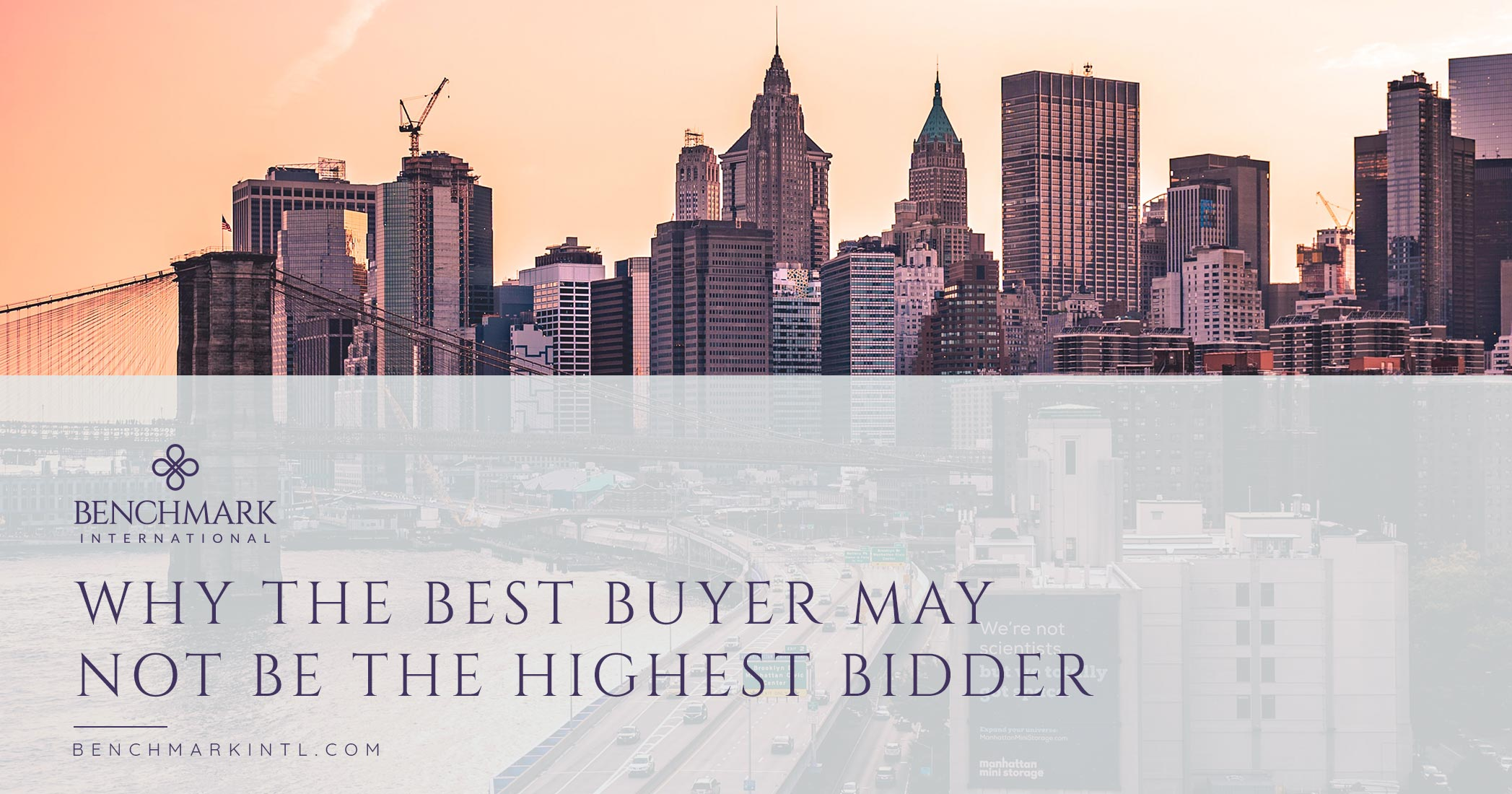 Why the Best Buyer May Not Be the Highest Bidder