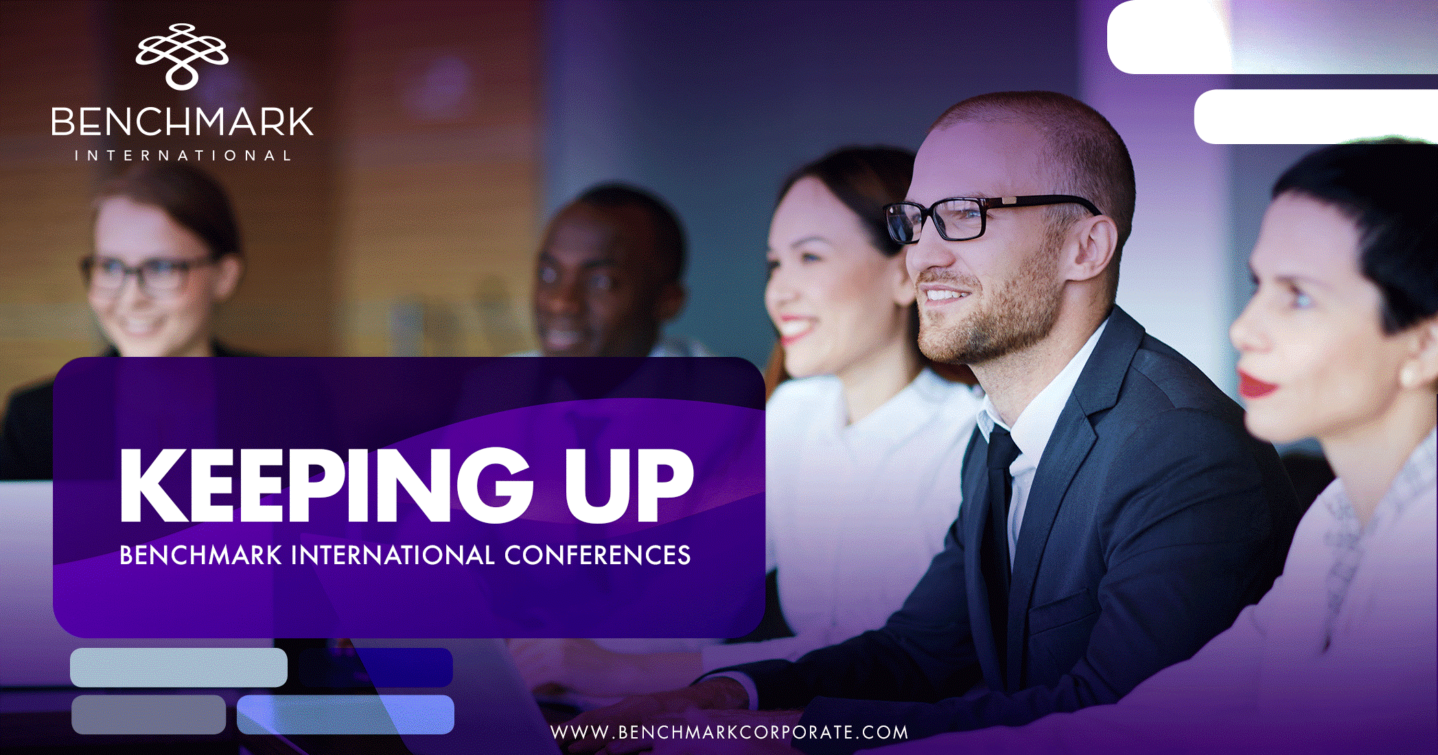 Keeping Up: Benchmark International Conferences